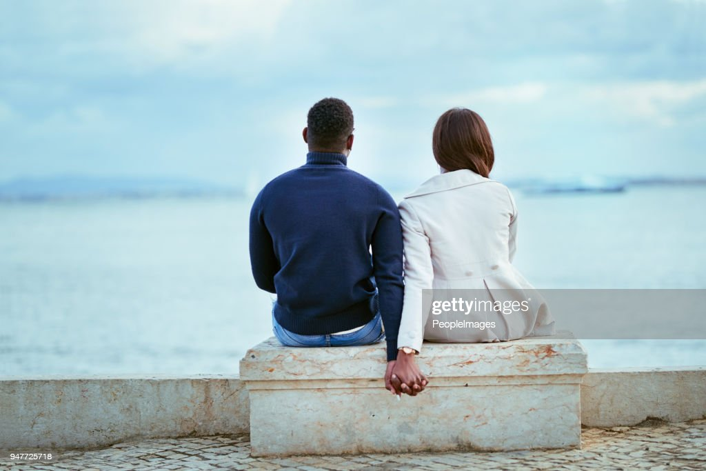 Relaxing with the perfect view : Stock Photo