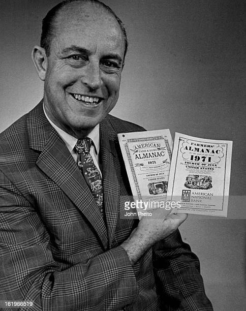 SEP 29 1970 SEP 30 1970 RelaxThe '71 Farmers' Almanac Is Here Editor Ray Geiger displays two versions of famed book Editor Visits Denver