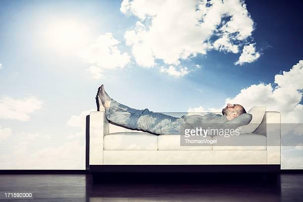 Relajación en el cielo