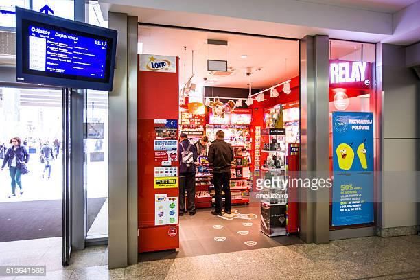 Staffel-shop auf die Krakauer Hauptbahnhof
