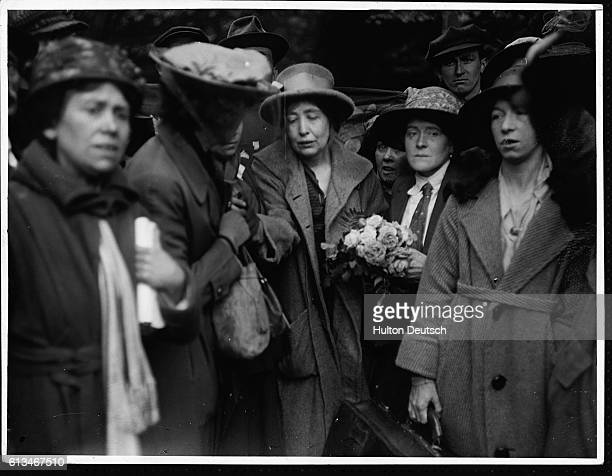 Release Of Miss Sylvia Pankhurst May 1921