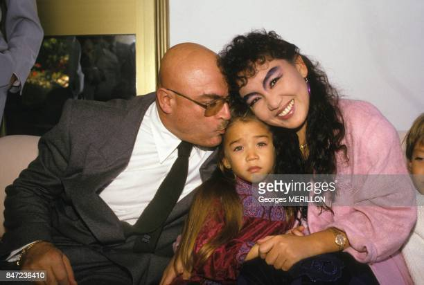 Release of the daughter of singer Kimera, young Melodie Nakachian, after abduction on November 20, 1987 in Spain.