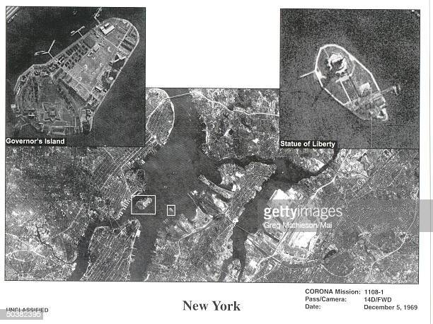 NRO released this declassified photo from one of its earlier recommaissance operations during the 1960's This is Satellite imagery from one of the...
