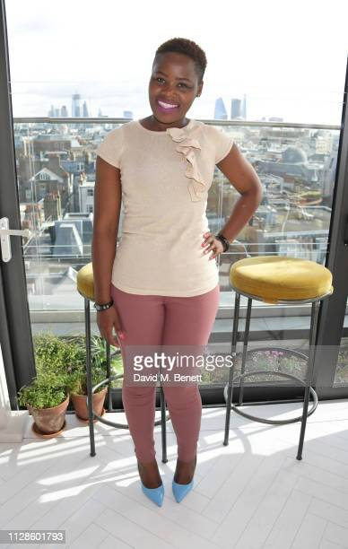 Relebohile Leoatha attends the mothers2mothers Wonder Women Tea at Bourne Hollingsworth's Garden Room on March 4 2019 in London England