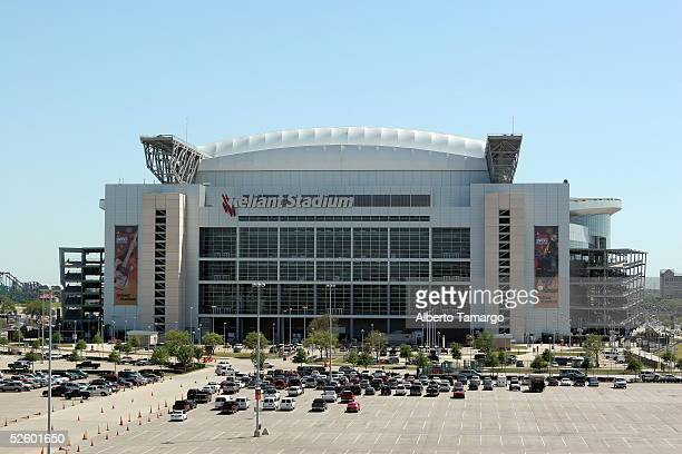 Reliant Stadium hosting 'Selena Vive' concert is seen on April 7 2005 in Houston Texas