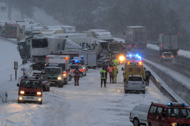 Romanian coach accident Pictures   Getty Images