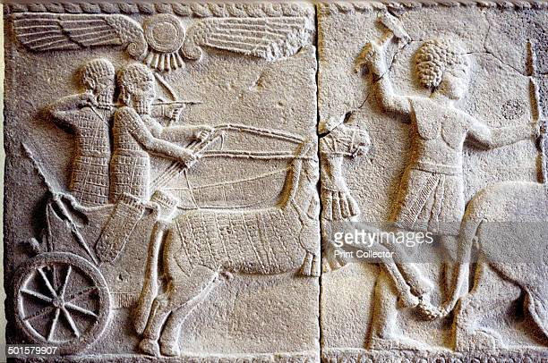 Relief of a Chariot Hittite Now in the Pergamon Museum in Berlin