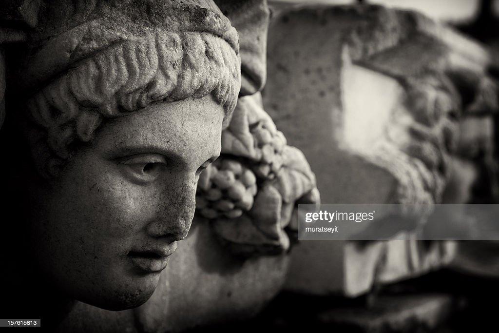 Relief of Aphrodisias : Stock Photo