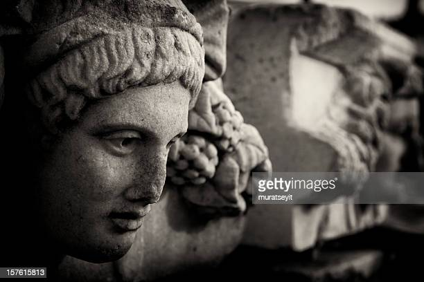 relief of aphrodisias - ancient greece photos stock pictures, royalty-free photos & images