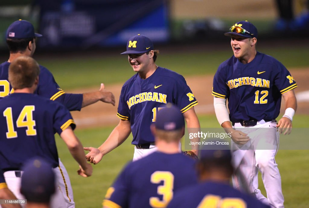 Michigan v UCLA - Game One : News Photo