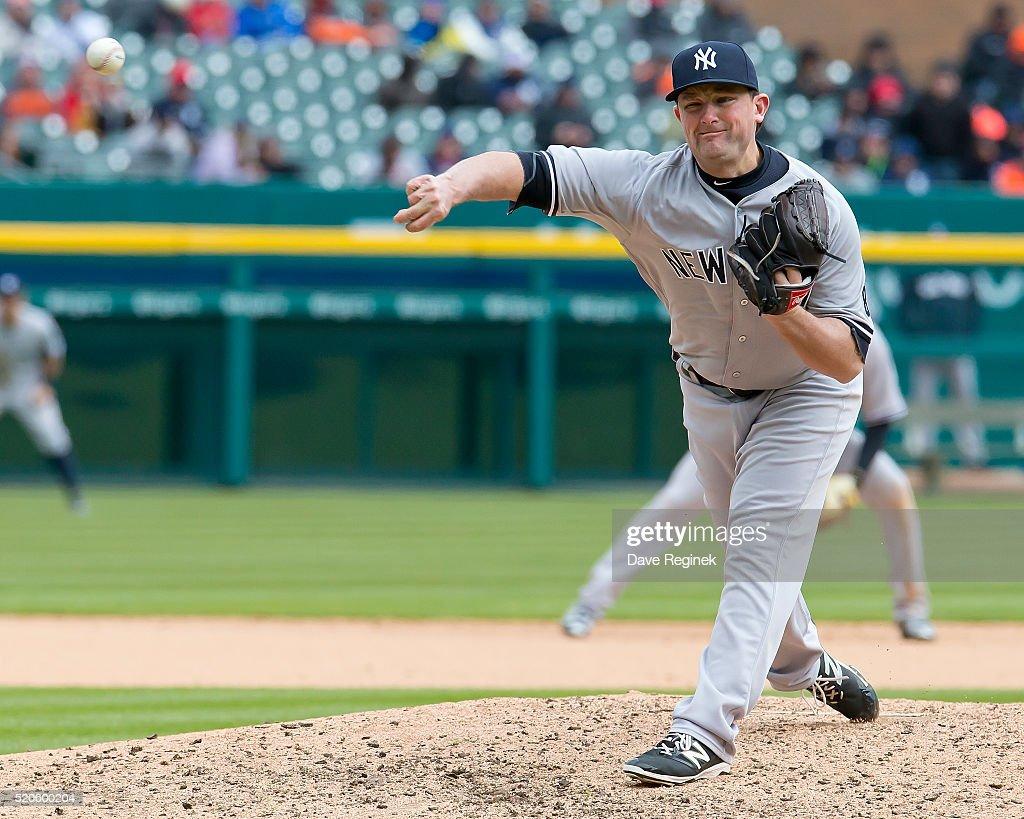 New York Yankees v Detroit Tigers : News Photo
