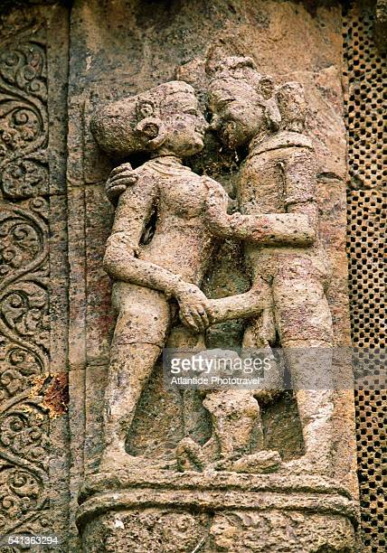 Relief Sculpture of Erotic Scene at Temple of the Sun