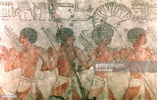 Relief with Soldiers Temple of Hatschepsut Located in the collection Egyptian Museum Berlin