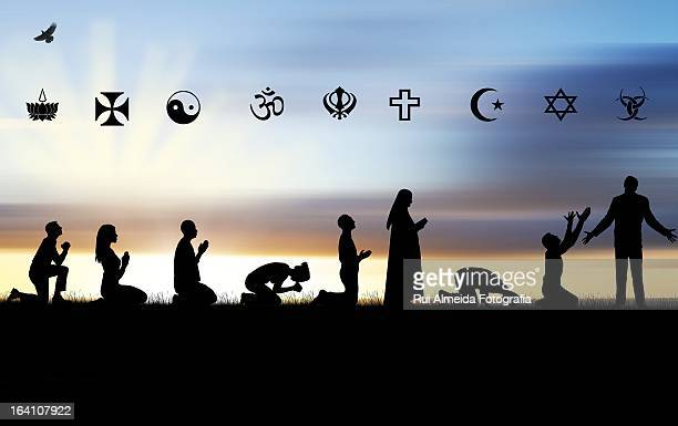 religion confusion - hinduism stock pictures, royalty-free photos & images
