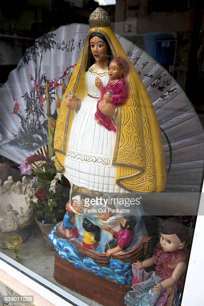Religion figurine at Centro of Havana in Cuba
