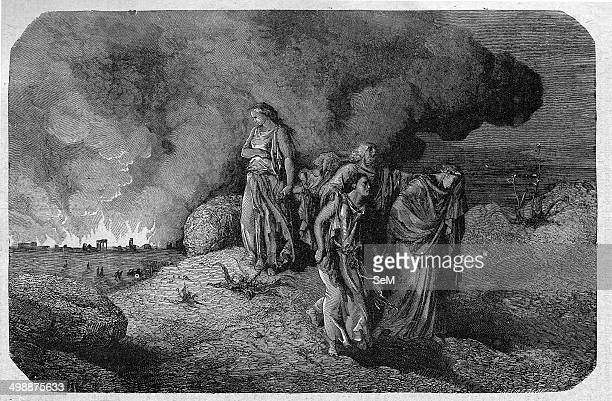 Religion The Holy Bible Genesis The Lord destroy Sodom and Gomorrah after granting safety to Abraham Lot and his two doughter