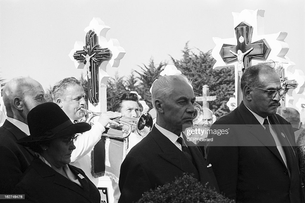 Religious Ceremony In Memory Of Marshal Petain In The Yeu Island : News Photo