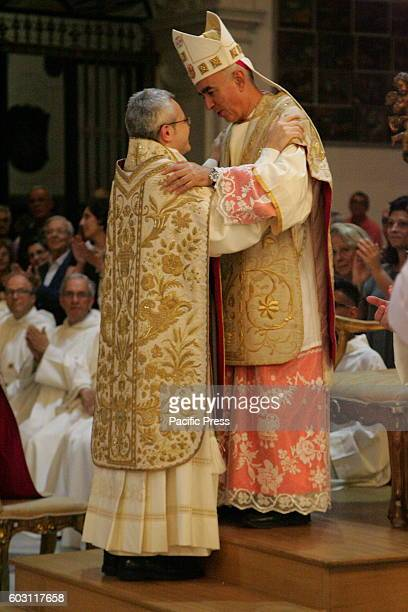ANASTASIA CAMPANIA/NAPOLI ITALY Religious ceremony took place at the Santuario della Madonna dell'Arco where the ceremony takes place for the...