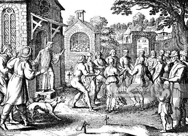 Religious erotic dance epidemics dancing mania also known as dancing plague choreomania was a social phenomenon that occurred primarily in mainland...