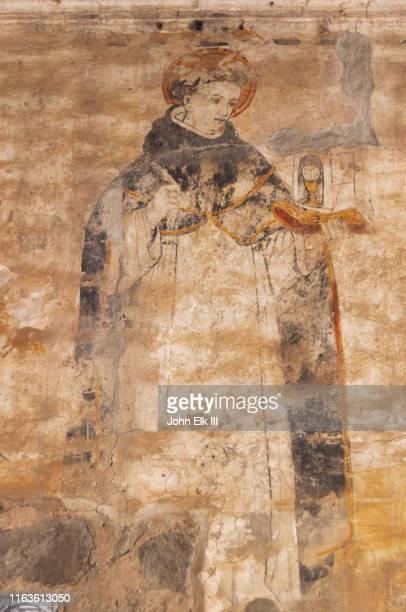 religious fresco - fresco stock pictures, royalty-free photos & images