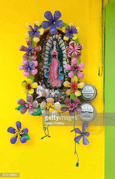 Religious shrine of the Madonna on Isla Mujeres