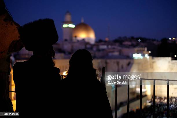 religious sites in jerusalem - haredi judaism stock pictures, royalty-free photos & images