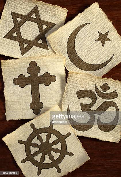 religious symbols - religion stock pictures, royalty-free photos & images