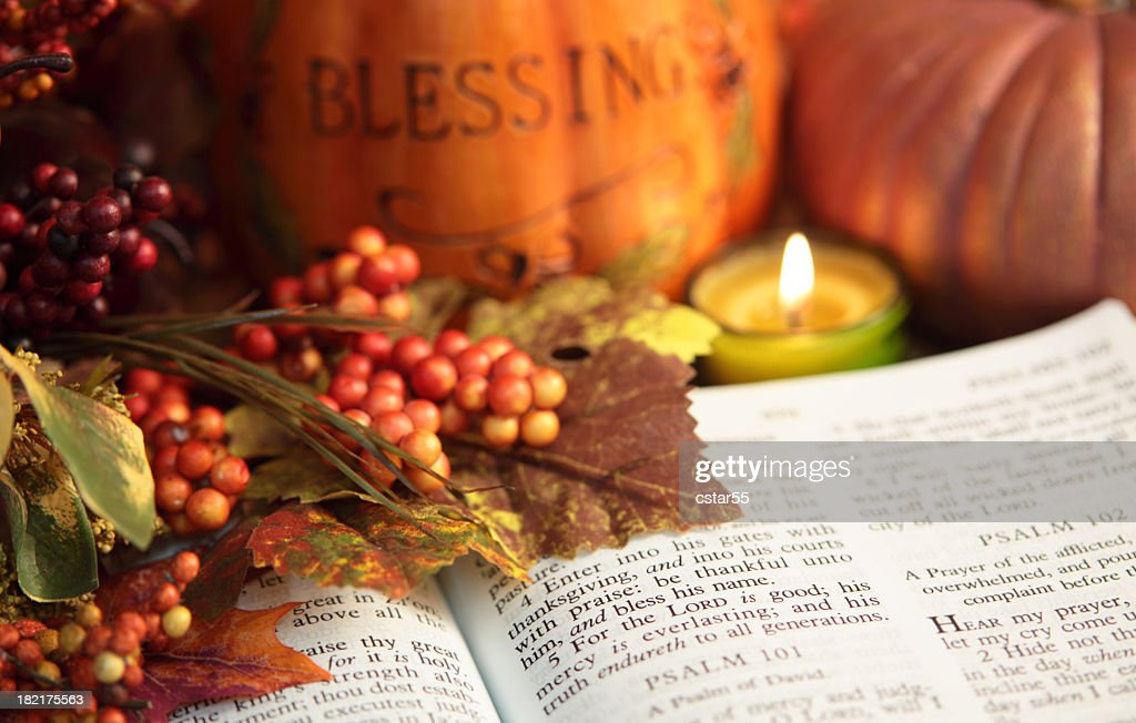 thanksgiving in the bible