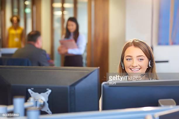 relishing her new job