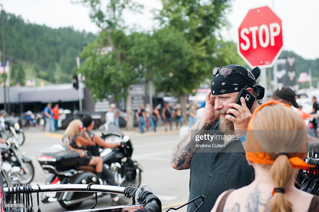 Annual Sturgis Motorcycle Rally Celebrates Its 75th Year : News Photo