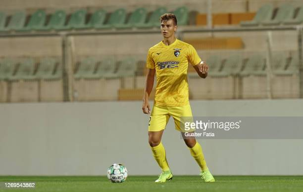 Relvas of Portimonense SC in action during the Friendly match between Portimonense SC and Sporting CP at Portimao Estadio on August 28, 2020 in...