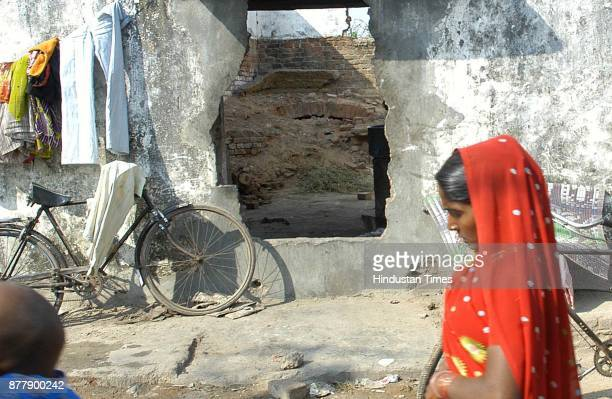Remains of Best Bakery in the by lanes of Hanuman Tekari in the outskirt of Vadodra City Henna who claims to be Zahira Sheikh's sisterinlaw and the...