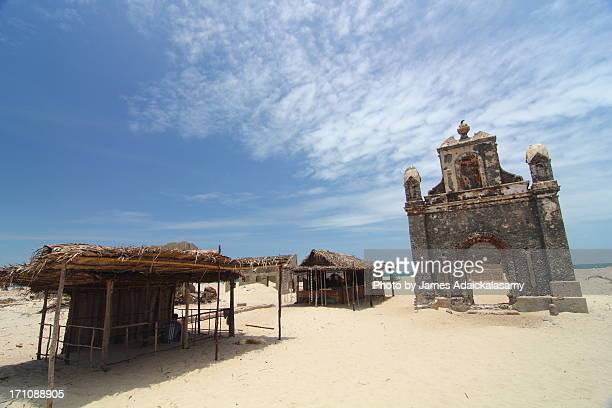 Remains of church, Dhanushkodi