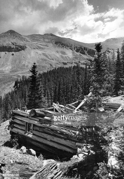 Remains Of Miner's Cabin Is A Relic Of Yesteryear Such relics of past offer silent charm to peaks of Continental Divide Credit Denver Post