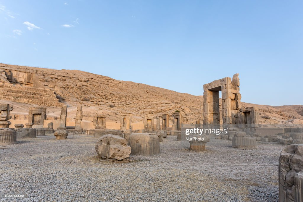Remains Of Persepolis The Ceremonial Capital Of Ancient Achaemenic News Photo Getty Images