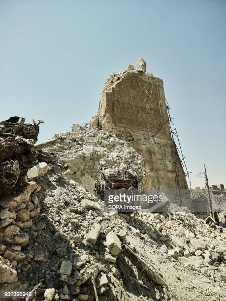 Remains of the AlNuri mosque seen in West Mosul The city of Mosul in northern Iraq has been under Islamic State militants control for 3 years since...