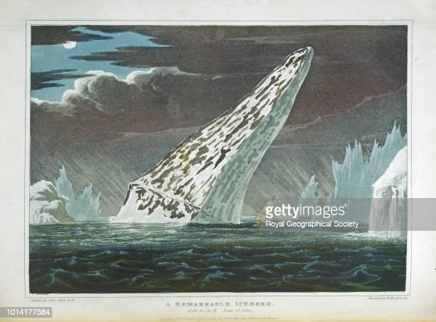 A remarkable iceberg Baffin Island Canada 17/06/1818