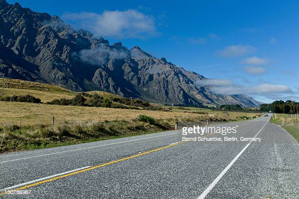Remarkable Mountains road
