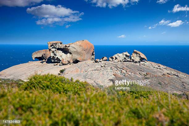 remarkable rocks - kangaroo island stock photos and pictures