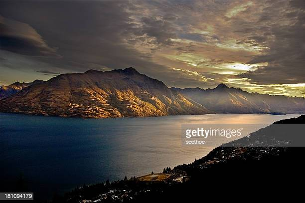 Remarkable Sunset at Queenstown