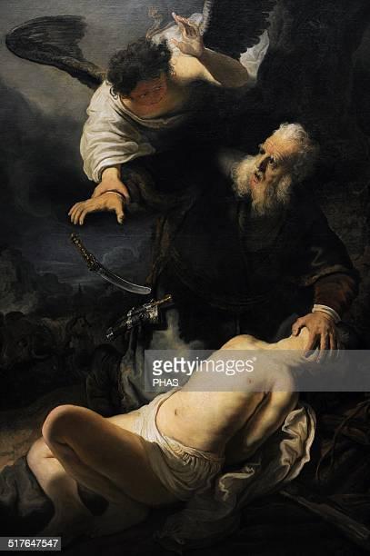 Rembrandt Harmenszoon van Rijn Dutch painter and etcher The Sacrifice of Isaac 1636 Alte Pinakothek Munich Germany