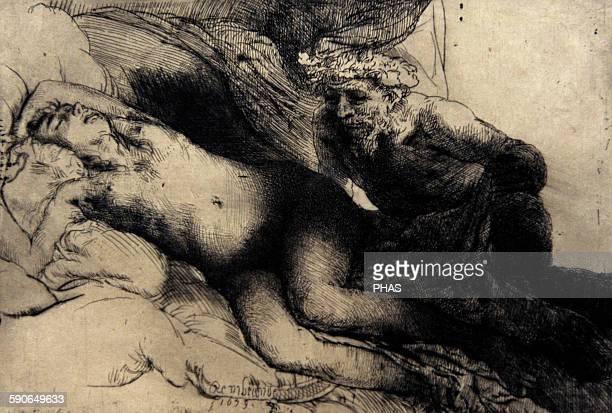 Rembrandt Harmenszoon van Rijn Dutch painter Jupiter and Antiope c 1659 Rijksmuseum Amsterdam Holland
