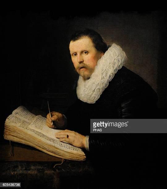 Rembrandt Harmenszoon van Rijn Dutch painter Portrait of a Scholar 1631 The State Hermitage Museum Saint Petersburg Russia
