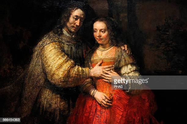 Rembrandt Harmenszoon van Rijn Dutch painter The Jewish Bride c16651669 Rijksmuseum Amsterdam Holland