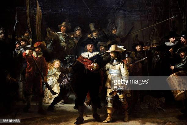 Rembrandt Harmenszoon van Rijn Dutch painter The Night Watch 1662 Rijksmuseum Amsterdam Holland