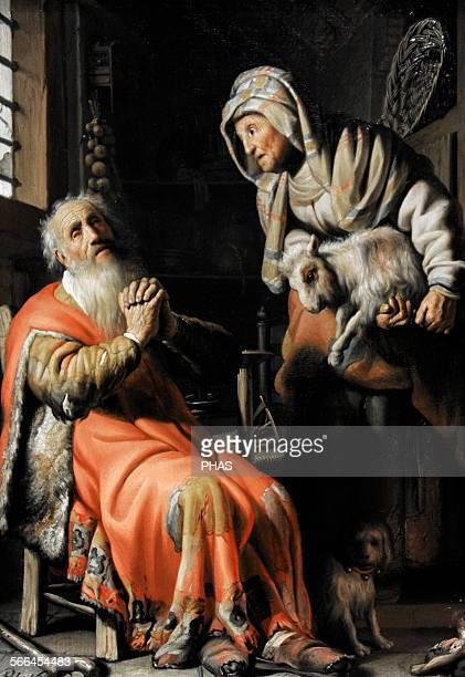 Rembrandt Harmenszoon van Rijn Dutch painter Tobit and Anna with the Kid 1626 Rijksmuseum Amsterdam Holland