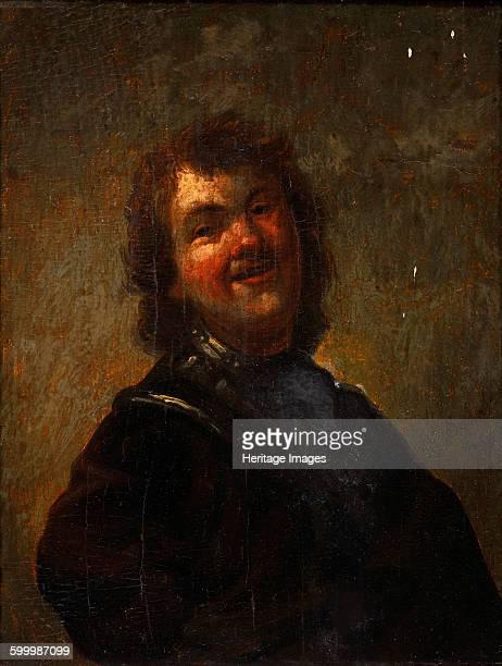 Rembrandt Laughing 1658 Private Collection Artist Schalcken Godfried Cornelisz