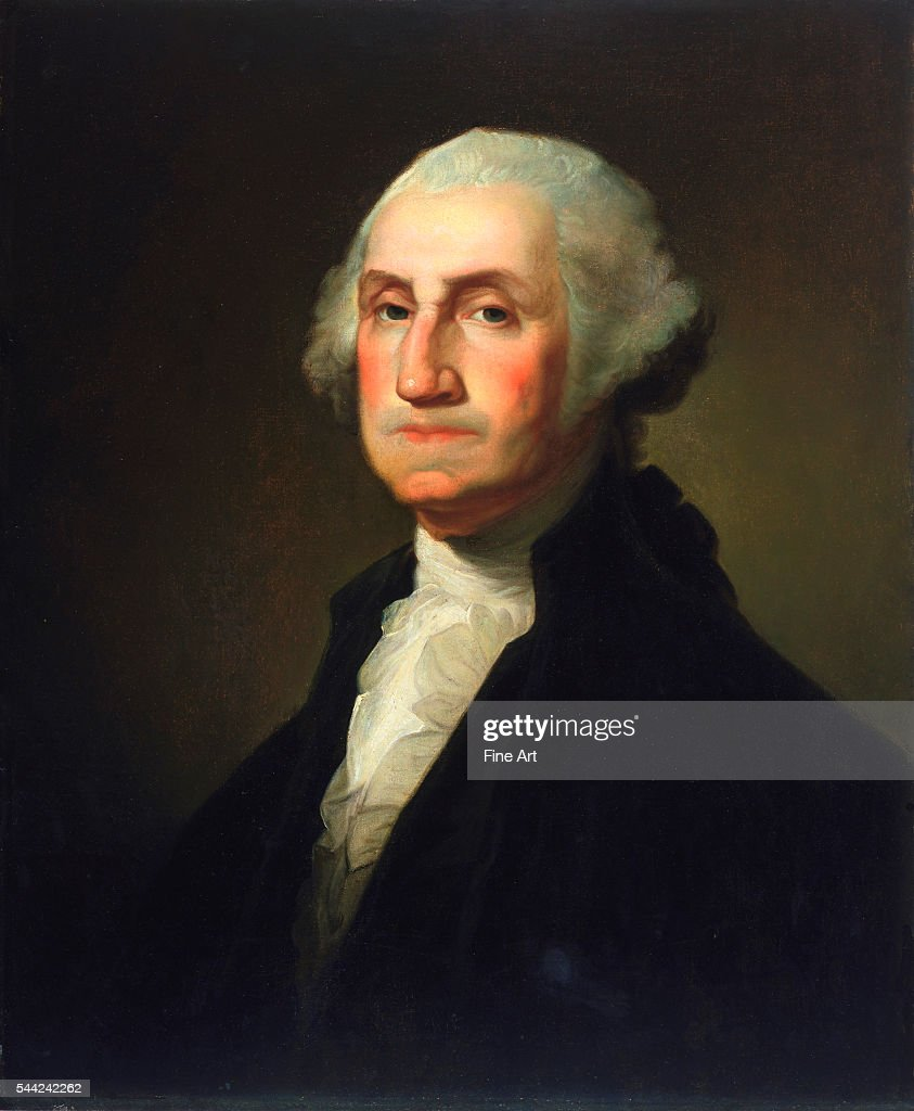 George Washington by Rembrandt Peale : News Photo