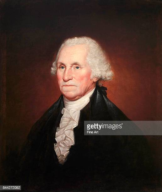 Rembrandt Peale George Washington oil on canvas 756 x 645 cm National Portrait Gallery Washington