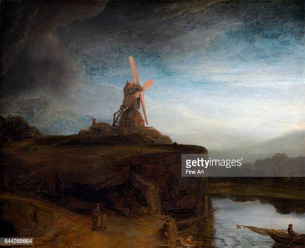 Rembrandt The Mill 164548 oil on canvas 876 x 1056 cm National Gallery of Art Washington DC
